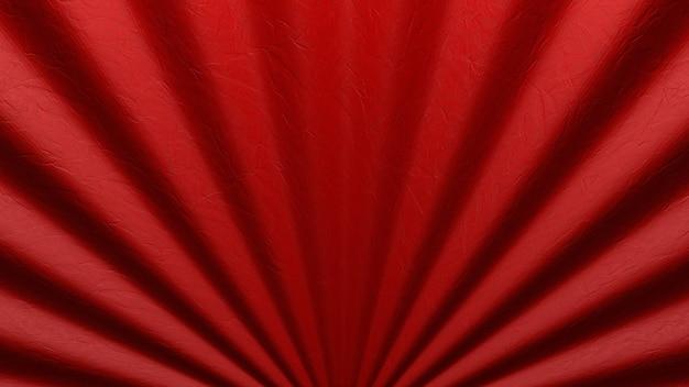 Вентилятор или занавес крупного плана в китайском стиле сложенный для предпосылки кино.