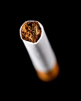Closeup of cigarette