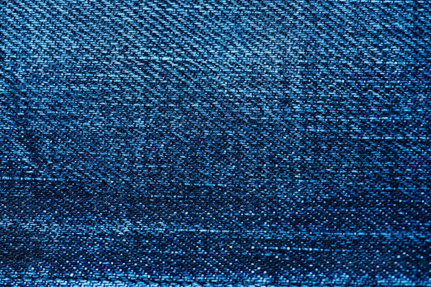 Closeup of denim