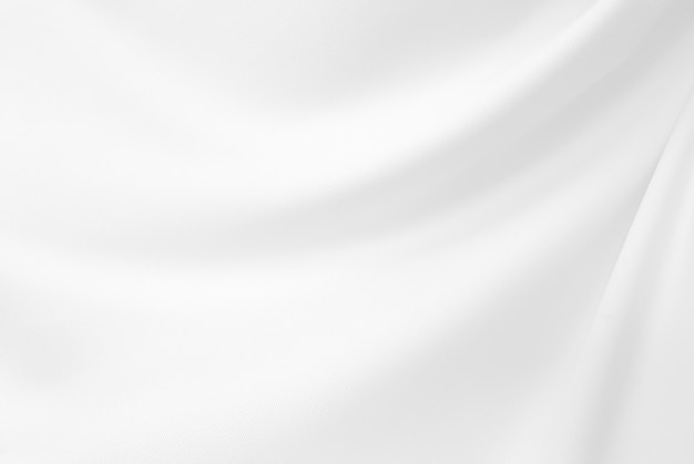 Скомканный крупный план шикарный белых ткани и текстуры silk ткани.