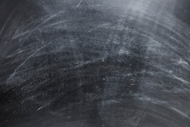 Closeup of empty black chalkboard