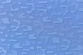 Closeup fabric texture blue color background