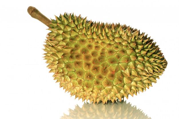 Closeup fresh durian monthong in thailand
