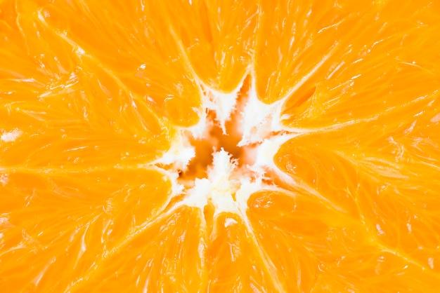Крупным планом свежий апельсин