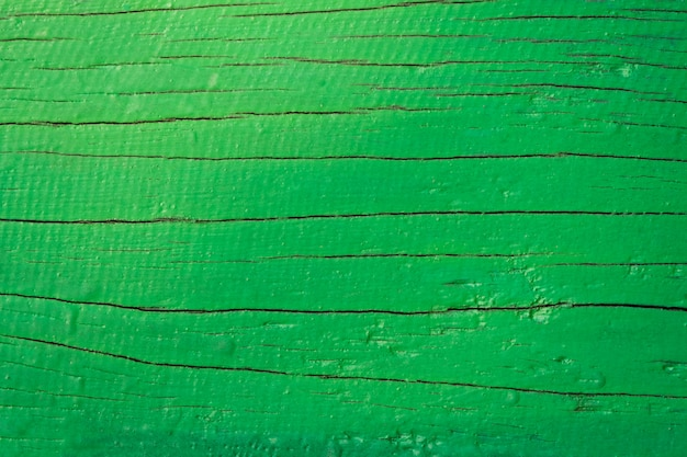 Closeup of grunge green wood background. wooden texture. surface
