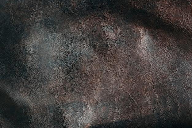 Closeup grunge plain leather background