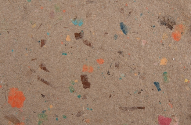 Closeup of handmade paper texture background. recycled paper.