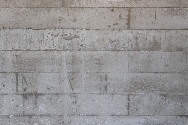 Closeup image of concrete wall texture and detail background