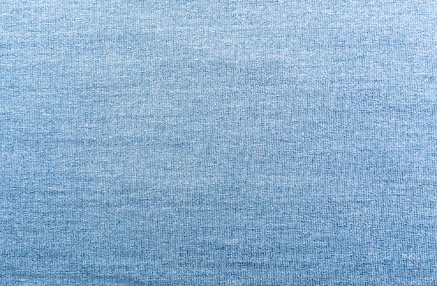 A closeup of jeans fabric