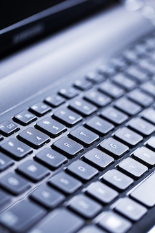 Closeup of a keyboard