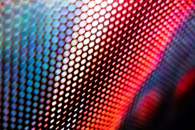 Closeup led blurred screen.abstract background ideal for design.