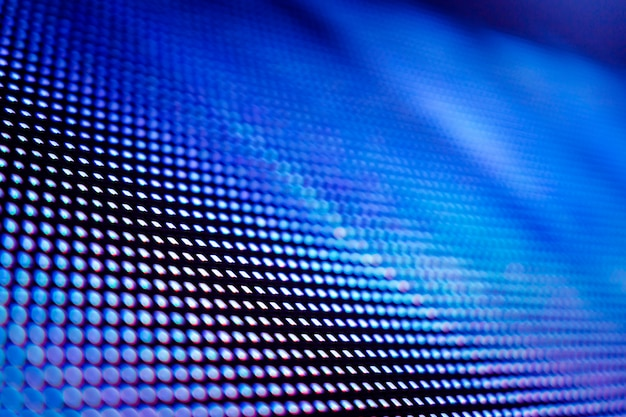 Closeup led blurred screen. led soft focus background. abstract background