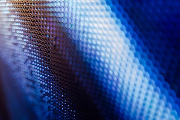 クローズアップledのぼやけた画面。 ledソフトフォーカスの背景。