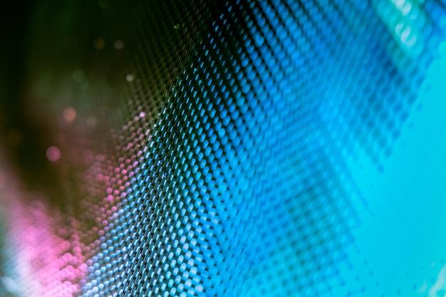 클로즈업 led 흐리게 화면. led 소프트 포커스 배경
