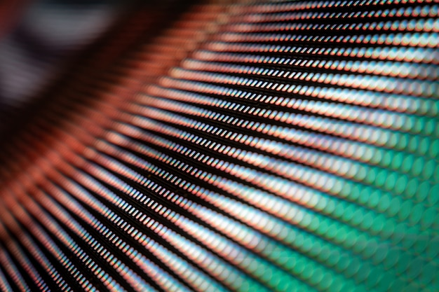 Closeup led blurred screen. led soft focus background.