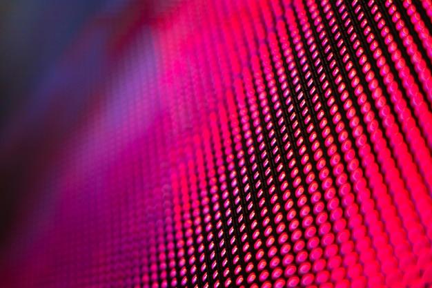 Closeup led размытый экран. светодиодная мягкая фокусировка фона. абстрактный фон идеально подходит для дизайна.