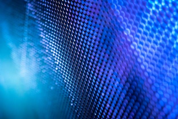 Closeup led размытый экран. светодиодный мягкий фон