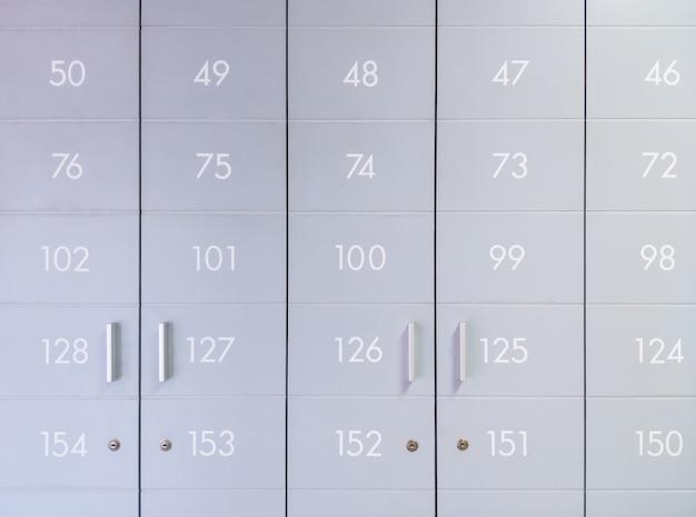 Closeup of the moden postbox.