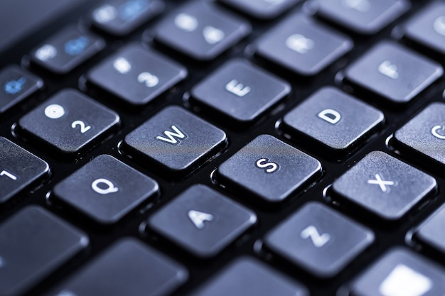 Клавиатура крупным планом