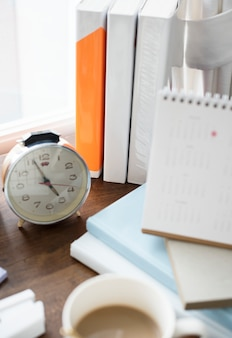 Closeup of alarm clock