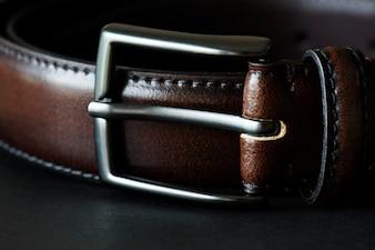 Closeup of belt