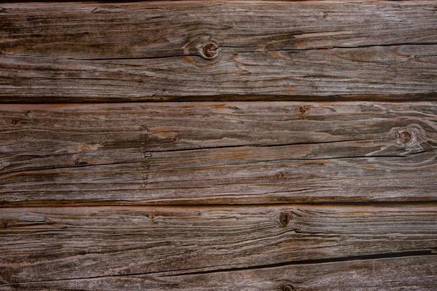Крупным планом коричневой деревянной поверхности