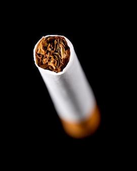 タバコのクローズアップ
