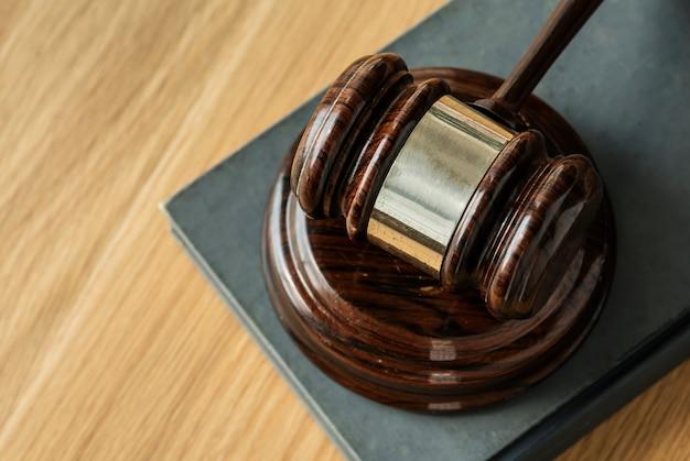 ガベル判断の概念のクローズアップ