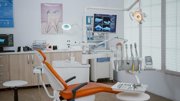 口腔病学歯科矯正医院の露出ショットのクローズアップ