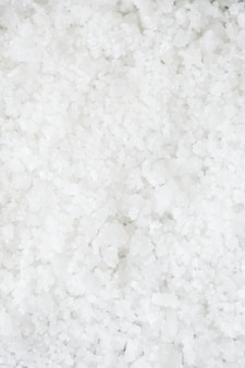 Closeup of salt texture