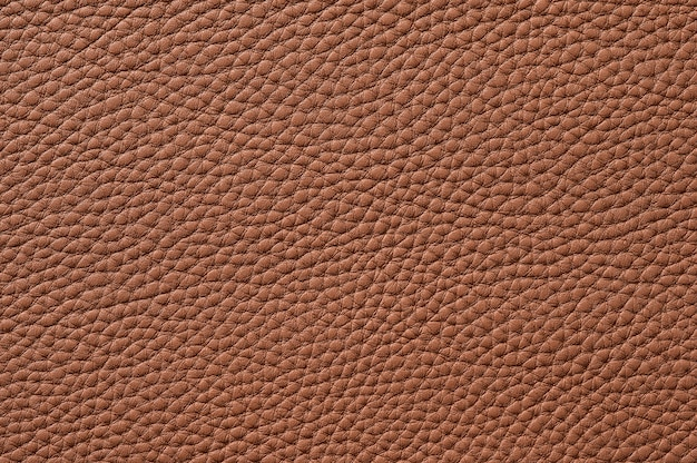 배경 원활한 갈색 가죽 질감의 근접 촬영
