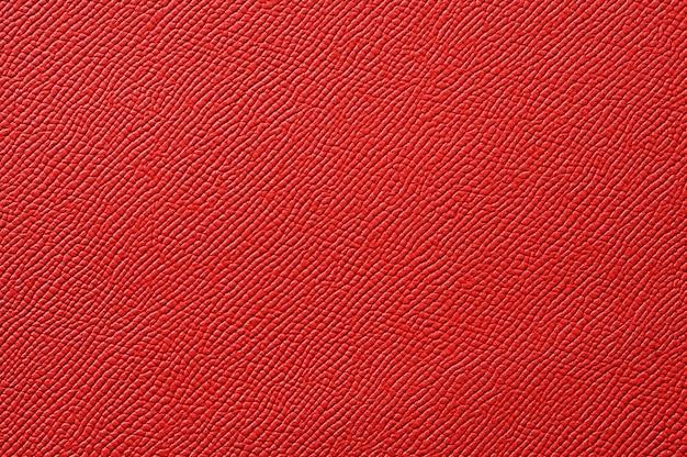 배경 원활한 빨간 가죽 질감의 근접 촬영