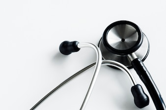Closeup of stethoscope