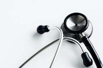 聴診器のクローズアップ