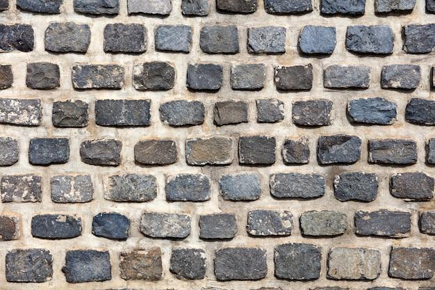 Крупный план блочной стены