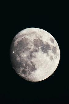 달의 근접 촬영