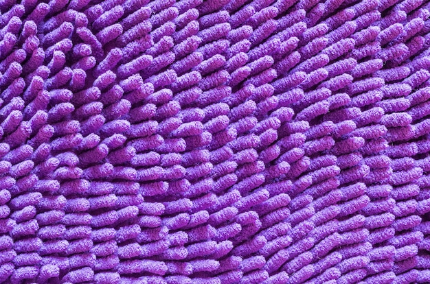 Closeup old purple mat texture background