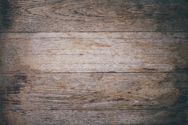 クローズアップ古いテーブルウッド背景テクスチャ