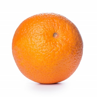 Closeup of an orange