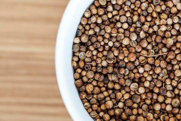 Closeup of peppercorn texture