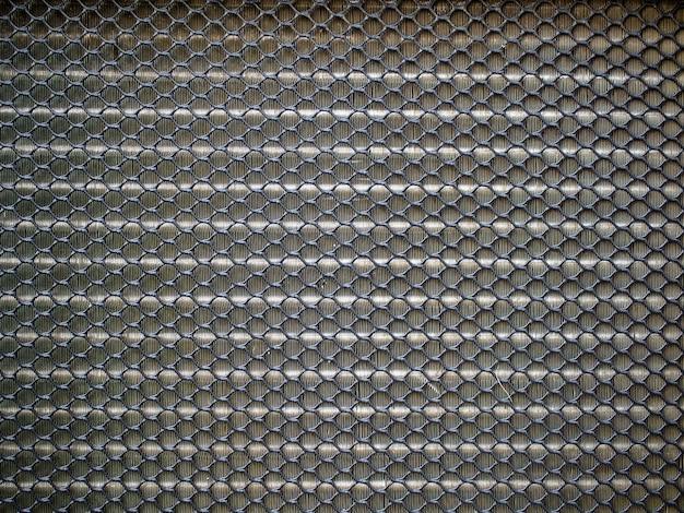 Closeup plastic sieve black