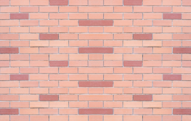 Closeup red brick wall texture background