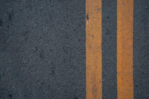 Closeup road texture