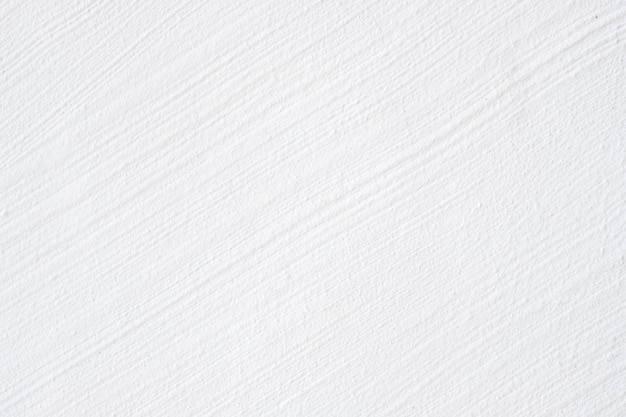 Closeup rough white concrete wall exterior design for texture and background.