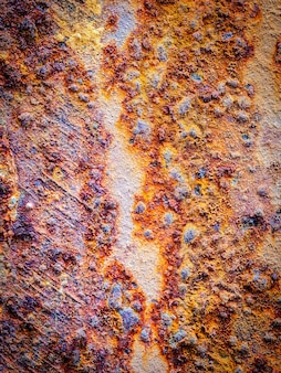 Closeup rusty of metal grunge background.