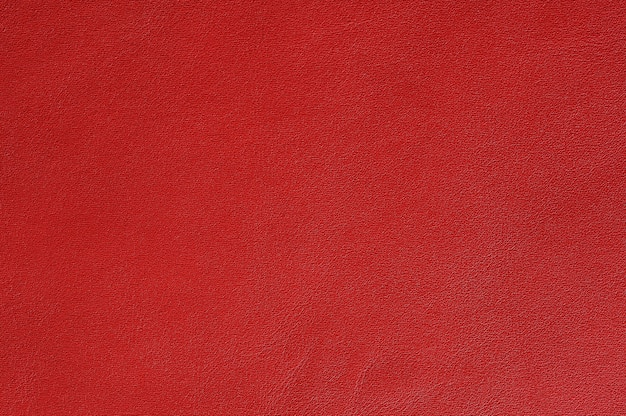 Closeup of seamless red leather texture for background