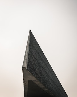 Closeup shot of the edge of a modern architecture