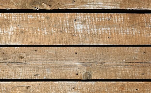 木製の壁のテクスチャ背景のクローズアップショット