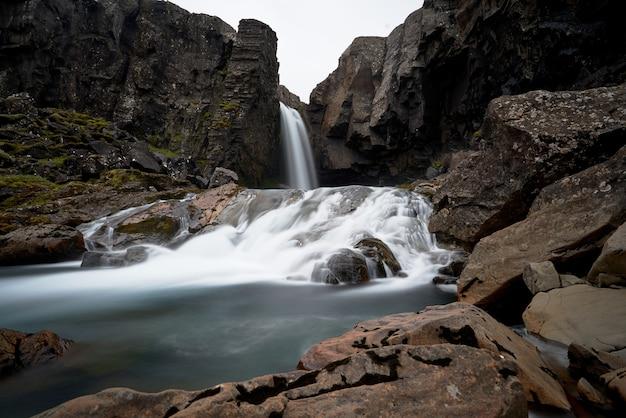 아이슬란드 breidafjordur 베이의 근접 촬영 샷