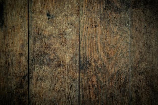 구석에 삽화가 있는 갈색 나무 질감 배경 그루지 스타일의 근접 촬영 샷